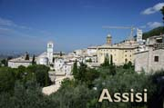 Assisi: centre for St Francis